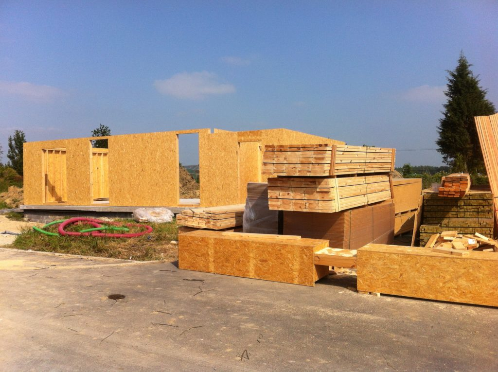 montage structure ossature bois nord
